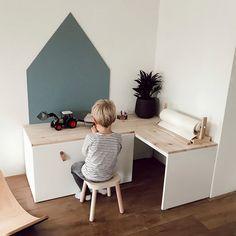 Baby Bedroom, Baby Boy Rooms, Kids Bedroom, Ikea Hack Kids, Ikea Kids Room, Ikea Hack Bedroom, Ideas Habitaciones, Childrens Room Decor, Kids Corner