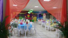 Decoracion del local candy land