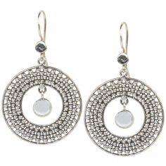Menaka: Silver Earring