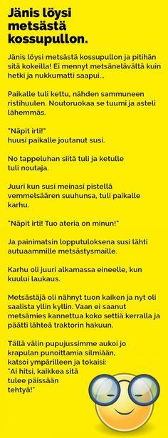 Vitsit: Jänis löysi metsästä kossupullon - Kohokohta.com