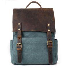 Retro European Style Leisure Canvas Backpack