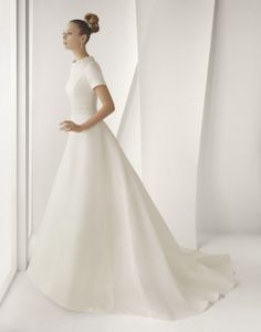 """Rose Clara """"That is a very special name Ida. It's so simple yet elegant. It's like a minimalist wedding dress."""""""