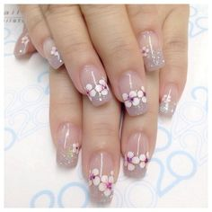 31 best nails ideas for spring 2019 00032 31 best nails ideas for spring 2019 00032 Cute Spring Nails, Spring Nail Art, Summer Nails, Cute Nails, Pretty Nails, Nail Art Designs, Nail Designs Spring, Luxury Nails, Flower Nails