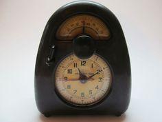 "Isamu Noguchi ""MEASURED TIME"" Clock/Timer Model E 1936 Electric LAPORTE, IND. #MidCenturyModern"