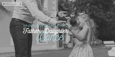 There's nothing more special for a dad and his little girl than a father-daughter dance. All Pro Dad explains why it is so significant.