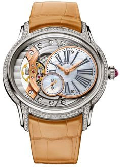 Discover a large selection of Audemars Piguet Millenary Ladies watches on - the worldwide marketplace for luxury watches. Compare all Audemars Piguet Millenary Ladies watches ✓ Buy safely & securely ✓ Audemars Piguet Watches, Audemars Piguet Royal Oak, Latest Watches, Watches For Men, Gold Watches, Wrist Watches, Men's Watches, White Gold Jewelry, Gold Jewellery