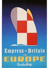 Affiche Bateaux (21 X 29,7 cm) Repro - Canadian Pacific