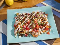 Get Greek Nachos Recipe from Food Network