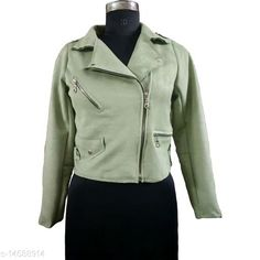 Jackets Stylish Fancy Women's Jackets Fabric: Polyester Blend Sleeve Length: Long Sleeves Pattern: Solid Multipack: 1 Sizes:  S (Bust Size: 34 in, Length Size: 19.5 in)  XL (Bust Size: 40 in, Length Size: 20 in)  L (Bust Size: 38 in, Length Size: 20 in)  M (Bust Size: 36 in, Length Size: 19.5 in)  Country of Origin: India Sizes Available: S, M, L, XL, XXL   Catalog Rating: ★4.1 (240)  Catalog Name: Stylish Fancy Women's Jackets CatalogID_2285137 C79-SC1023 Code: 086-14588914-7281