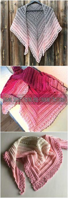 Shawl Secret Paths Free Crochet Pattern