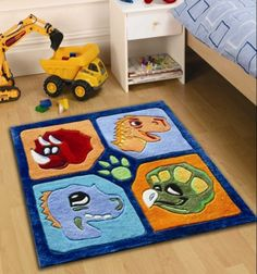 The Dino Multi rug is sure to brighten up any childs room. Our kids dinosaur rug offers a luxurious, soft polyester pile that is easy to clean and colourfast. Dinosaur Bedroom, Kids Area Rugs, Childrens Rugs, Bedroom Accessories, Creative Decor, Rug Making, Kids Bedroom, Bedroom Ideas, Child Room