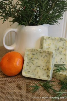 How to Make Homemade Soap. Instructions at the end of the post.