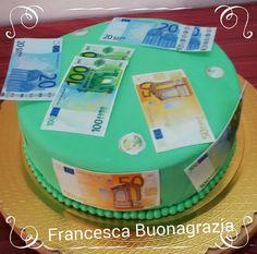 Banconote cake