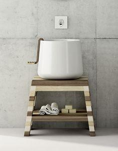 Catino bathroom set  #bathroom #washbasin by #MrManu