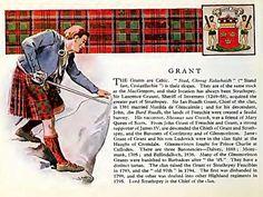 Clan Grant history, castles, tartan etc.