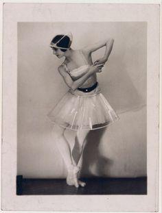 Olga Spessivtseva by Manuel Frères, c.1920s.