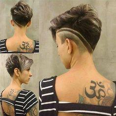 De trends van nu! 10 zeer hippe kapsels voor dames die hun haren het liefst kort dragen. - Kapsels voor haar