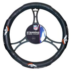 denver broncos vehicle accessories | Denver Broncos Car Steering Wheel Cover | Auto Accessories Fast ...