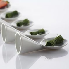 Gourmet spoon Sushi, Porcelain, Spoon, Kitchen, Student, Design, Gourmet, Porcelain Ceramics, Cooking