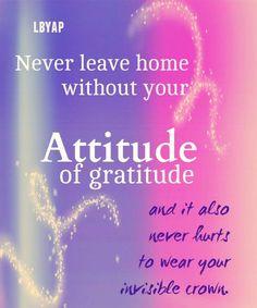 #lbyap #attitude #gratitude