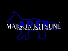 Maison Kitsune X Ader Error tease Ader Error, Young T, Launch Party, Tokyo, Product Launch, Fashion Music, Neon Signs, Graphic Design, Mood