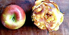 #recipe überbackene Apfelringe