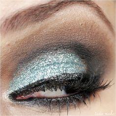 Maquiagem Sereia - Glitter  36 Acqua Dailus Color  - tudo make 03