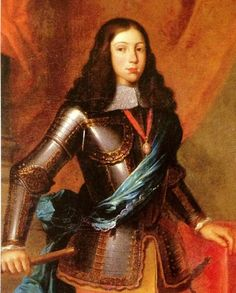 Afonso VI, son of John IV and second King of Portugal of the House of Braganza. Alfonso ruled Portugal from 1656 to 1683.
