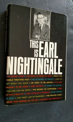 This is Earl Nightingale- Signed! by TheVintageVagabonds on Etsy