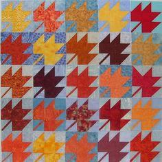 Quilt In Autumn Colours