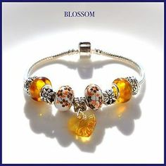 New collection 2014. € 9,90 Bracciale donna, Bracelet Woman With Beads Charms European Style
