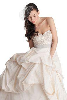Watters Brides Belmont gown $2,800 #weddings #weddingdress pockrts are so trendy  now