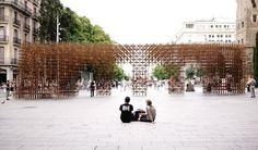 BCN Re.Set – Identity Pavilion / Urbanus