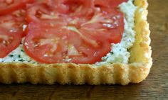 Gluten-Free Heirloom Tomato Tart with Pecorino Crust