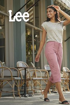 Versatility is key. The cotton-soft, ribbed waistband in our Relaxed Fit Knitwaist Cargo Capri is made for both ease and mobility, letting you be as active or as lounge-y as you please. Sport Fashion, Flat Shoes, Capri Pants, Lounge, Key, Fitness, Skirts, Clothing, Cotton