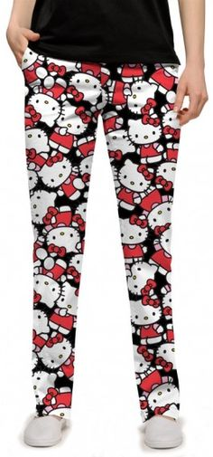 1186af156 Womens Made-To-Order Pants by Loudmouth Golf - Red Tarzan. Buy it ...