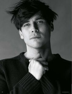 Rob James-Collier in Vogue Germany, January 2013. HAWT!!  Barrow