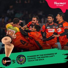The Goodness of #Havmor #icecreams will give U Mumba defence the golden touch in today's match against Patna Pirates.