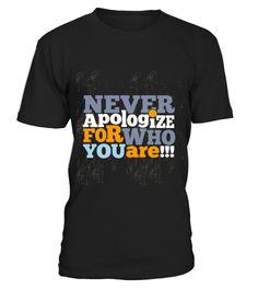 [QUOTES] Never apologize  #tshirts #tshirtdesign #tshirtteespring #tshirtprinting #tshirtfashion