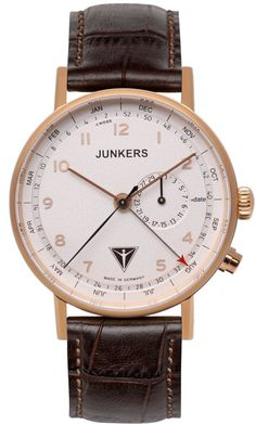 Junkers Watch Eisvogel F13 #2015-2016-sale #bezel-fixed #black-friday-special #bracelet-strap-leather #brand-junkers #case-depth-10mm #case-material-rose-gold-pvd #case-width-40mm #classic #date-yes #delivery-timescale-1-2-weeks #dial-colour-silver #gender-mens #movement-quartz-battery #official-stockist-for-junkers-watches #packaging-junkers-watch-packaging #sale-item-yes #style-dress #subcat-eisvogel-f13 #supplier-model-no-6736-4 #vip-exclusive #warranty-junkers-official-2-year-guarantee…