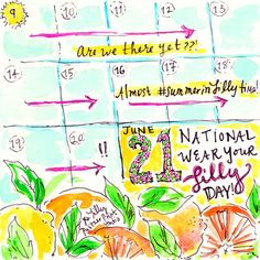 12 Days until National Wear Your Lilly Day (AKA the first day of summer). GET INVOLVED. How are you celebrating a #SummerInLilly?