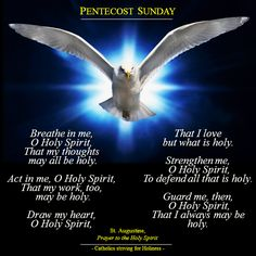 pentecost evening prayer