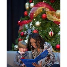 """Every year the First Lady spreads holiday cheer by visiting patients at Children's National Medical Center. She reads """"Twas the Night Before Christmas"""" to children and answers the most popular question: """"What are you getting the President for Christmas?"""" (Hint: It's very #LetsMove friendly!) —Amanda Lucidon, @WhiteHouse photographer. That's a wrap on our third edition of the #12DaysOfTakeovers! We will be back tomorrow with another behind-the-scenes look at #WHHolidays.   Michelle Obama…"""