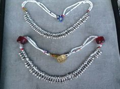 Ethiopian Jewelry, Picture Credit, Venetian Glass, Silver Beads, Beaded Necklace, Necklaces, Glass Beads, Bohemian, Jewels