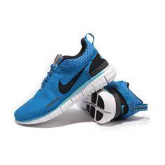 5e54673b7454 Nike Free OG Breathe Running Shoes Black Blue 002