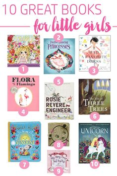 The ten best books for little girls