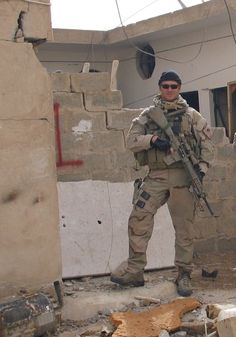 Chief Petty Officer Chris Kyle is a former United States Navy SEAL, who with 255 kills, 160 of them officially confirmed by the Pentagon, is the deadliest marksman in United States military history.  This is Chris on one of his four tours of Iraq.