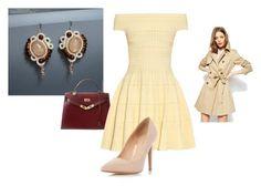 """soutache earrings tender fire"" by natalialuzik on Polyvore featuring мода, Hermès, Alexander McQueen, Dorothy Perkins и ASOS"