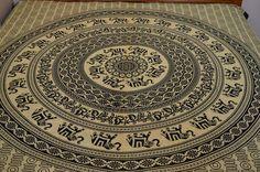 Mandala Tapestry, Bohemian Tapestry, Gypsy, Elephant Tapestry, Mandala Bedspread, Picnic Blanket, Hippie Tapestry, Wall Hanging, Home Decor