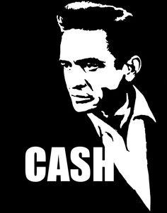 Stencil Art Stencils Rock Johnny Cash Posters Black Women White Artwork Google Search